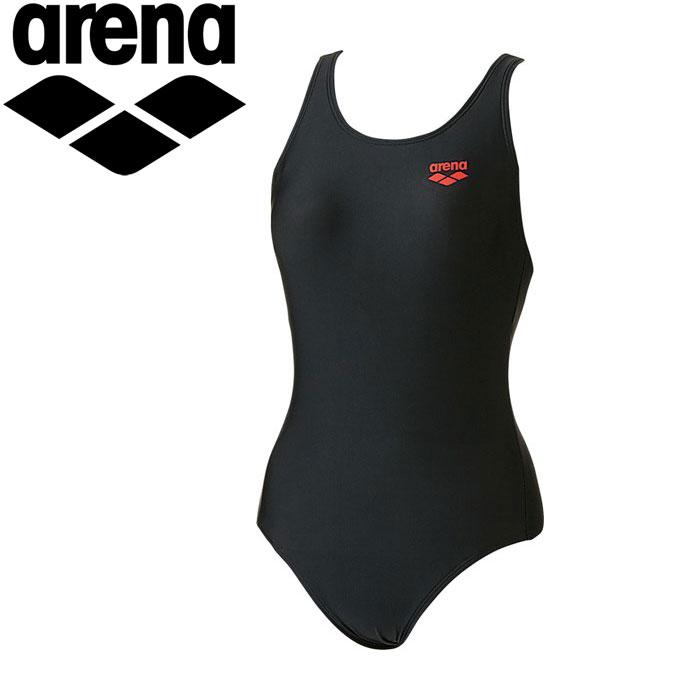 ◇アリーナ水泳競泳水着トレーニングレディースワンピースARN700W-BKRD