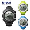 ★エプソン SF-110 GPSランニングウォッチ SF-110B-G-CWRISTABLEGPS ランナーモデル 時計 ...