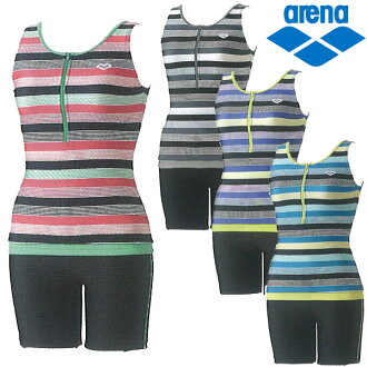 ◇ arena double separates ladies swimwear swimsuit 15 SS arena FLA-4701 W