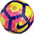 ナイキ サッカーボール 5号球 メンズ チームプレミア FIFA ハイビズイエロー/パープル SC2971-702 NKE 17SP