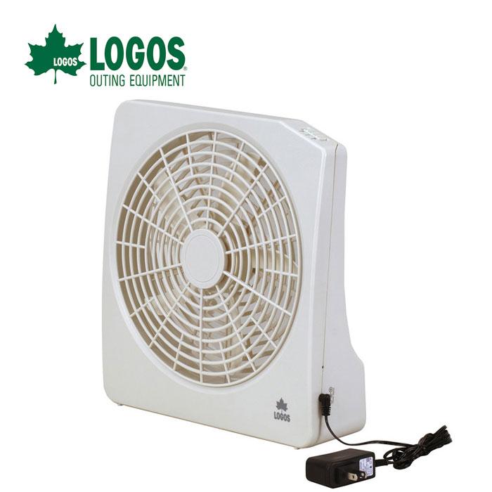 LOGOS ロゴス 2電源・どこでも扇風機(AC・電池) 81336702