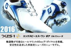 ◇【2016年モデル】フットジョイFJエックスピーエスワンボアゴルフシューズFOOTJOYXPS-1Boaマルチ