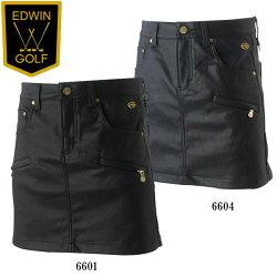 エドウインゴルフウェアレディースジップスカートKG73022016秋冬