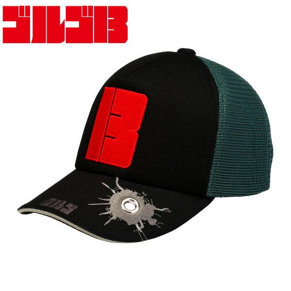 ゴルゴ13ゴルフ帽子キャップG13C001キャラクターグッズ