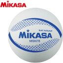 ミカサ Mikasa カラーソフトバレーボール 円周78cm ホワイト Msn78 W W 円周78cmの価格と最安値 おすすめ通販を激安で