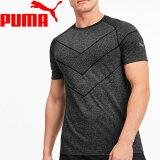 【2点までメール便送料無料】プーマ ランニング REACTIVE EVOKNIT SS Tシャツ メンズ 518307-01