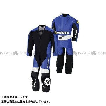 送料無料 RSタイチ アールエスタイチ キッズアパレル NXL022 J022 キッズ レザースーツ(ブルー) 130cm