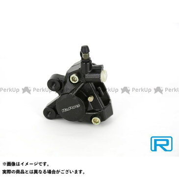 リンパーツ ズーマー 2POT ブレーキキャリパー(ブラック) Rinパーツ