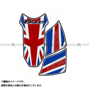 【無料雑誌付き】モトグラフィックス タイガー800 タンクパッド トライアンフ タイプ:TT018UJ MOTOGRAFIX