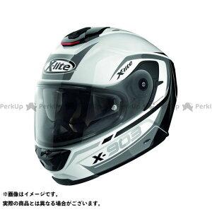 X-lite X-903 Cavalcade N-Com Helmet(ブラック-ホワイト)X93000367021 サイズ:3XL エックスライト