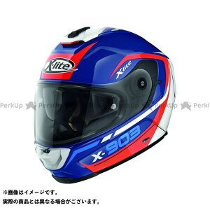 X-lite X-903 Cavalcade N-Com Helmet(ブルー-ホワイト-レッド)X93000367024 サイズ:2XL エックスライト