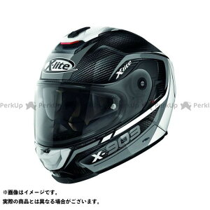 X-lite X-903 Ultra Carbon Cavalcade N-Com Helmet(ブラック-ホワイト)X9U000367011 サイズ:XXS エックスライト