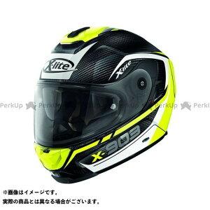 X-lite X-903 Ultra Carbon Cavalcade N-Com Helmet(ホワイト-イエロー-ブラック)X9U000367012 サイズ:2XL エックスライト
