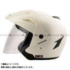 コミネ HK-165 エーラヘルメット カラー:パールホワイト サイズ:M(頭周57-58cm) KOMINE