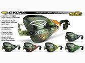 CYCRA C.R.M.ハンドガードフルキット(クランプ付)OPS 限定 仕様:テーパーバー用 カラー:レッド 汎用