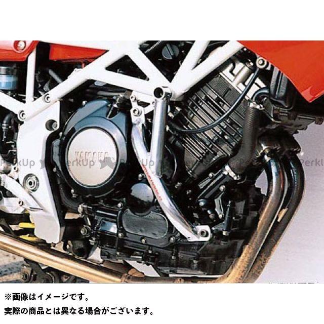送料無料 ゴールドメタル TRX850 エンジンガード スラッシュガード シャンパンゴールド