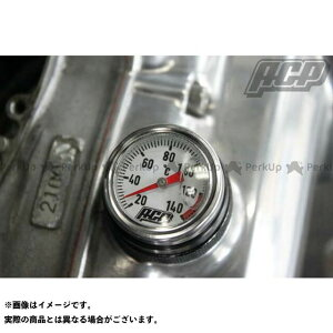 ACP GS400 GSX400E スズキ用アナログ油温計 ブラック