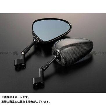 【特価品】マジカルレーシング 汎用 NK-1ミラー・タイプ2ヘッド ロングエルボステム ヘッド素材:綾織りカーボン製 ステムカラー:シルバー タイプ:正ネジ8mm/正ネジ8mm Magical Racing