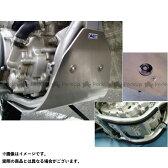 力造 スキッドプレート YAMAHA WR250R/X 取付ステー、ボルト付属 カラー:ナチュラルシルバー WR250R/X