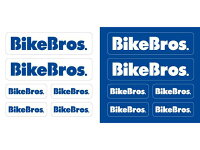 BikeBrosステッカー付き