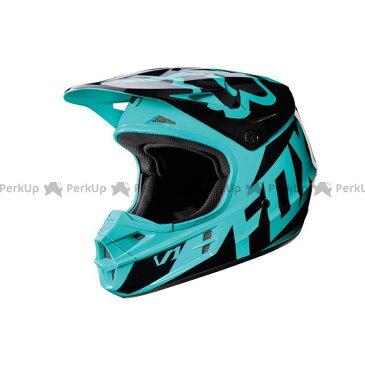 送料無料 FOX フォックス オフロードヘルメット 2017モデル V1 レース ヘルメット グリーン XL/61-62cm