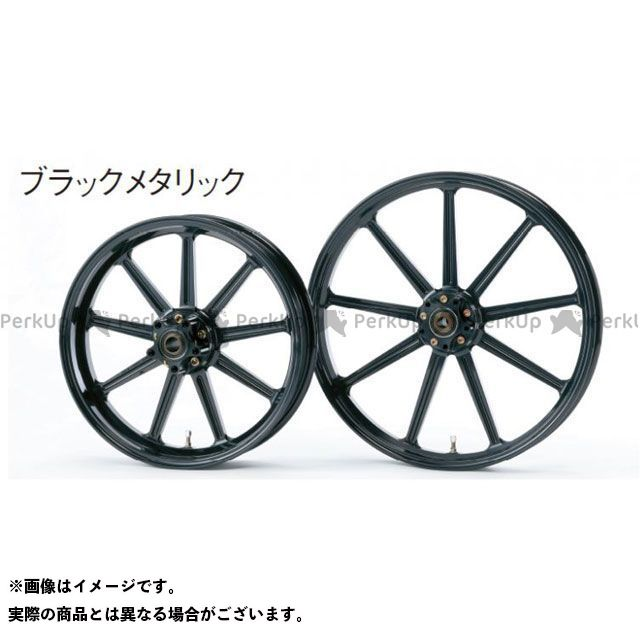 GLIDE アルミニウム鍛造ホイール フロント(250-19) シングルディスク カラー:ブラックメタリック SPORTSTER