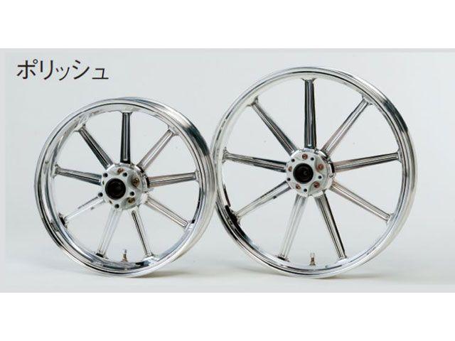 GLIDE アルミニウム鍛造ホイール フロント(350-16) シングルディスク カラー:ポリッシュ XL1200X FORTY-EIGHT