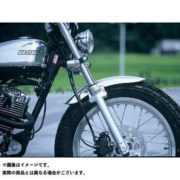 【無料雑誌付き】【特価品】ビッグシーダー バンバン200 アルミフロントフェンダー ショート BIG CEDAR