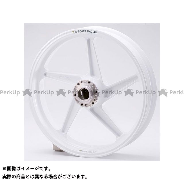 BITO R&D マグネシウム鍛造ホイール セット MAGTAN JB2 フロント:3.50-17/リア:6.00-17 カラー:ホワイト CB1300SF