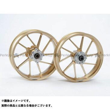 ゲイルスピード GSX1400 ホイール本体 TYPE-R フロント(350-17) クォーツ仕様 ゴールド