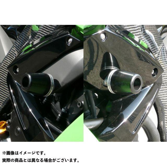 最新の激安 エントリーで最大P19倍 アグラス ニンジャZX-10R レーシングスライダー フレームタイプ カラー ジュラコン ホワイト タイプ ロゴ無 AGRAS, 人気の 92790cc5