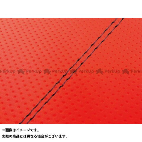 グロンドマン シグナスX シグナスX(SE12J)台湾仕様 国産シートカバー フルエンボスレッド 張替 赤ダブルステッチ Grondement