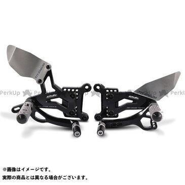 バルターモトコンポーネンツ ニンジャZX-10R バックステップ関連パーツ バックステップ レース(ブラック)