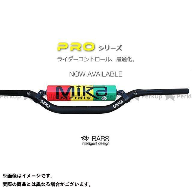 ミカメタルズ 汎用 ハンドルバー PRO シリーズ(大径バー) ピンク YZ BEND/REED