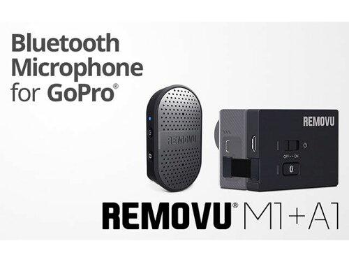 REMOVU REMOVU M1+A1 ウェアラブル防水ブルーツースGoPro専用マイクロフォンキット