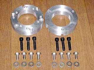 MIKIP DESIGN アルミ製ロードフォックス用 ホイールアダプター 1セット(20mm-39mm) 仕様:21mm ロードフォックス