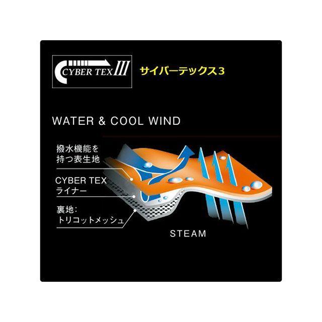 ワイズギア Y'S GEAR レインウェア YAR28 サイバーテックスIII ダブルガードレインスーツ(オレンジ) BL