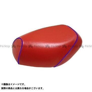 グロンドマン ジョグ リモコンジョグ(SA36/39)4スト グロンドマン国産シートカバー 被せ(赤) 仕様:青パイピング Grondement