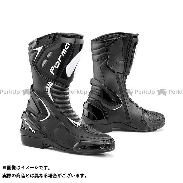 送料無料 FORMA フォーマ レーシングブーツ FRECCIA(ブラック) 45/28.0cm