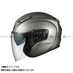 送料無料 OGK KABUTO オージーケーカブト ジェットヘルメット EXCEED(エクシード) クールガンメタ M