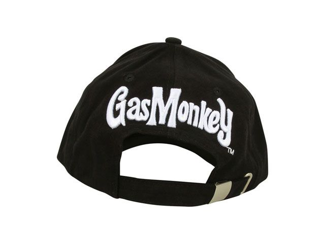 GAS MONKEY GARAGE ガスモンキーガレージ ヘッドギア キャップ GMG SHOP CAP(ブラック)