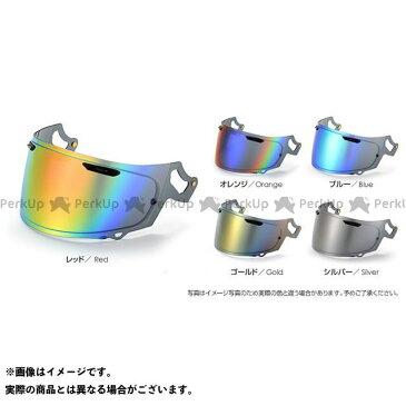 T's SPアドシス-I ベースカラー:セミスモーク ミラーコーティングカラー:レッド ティーズ