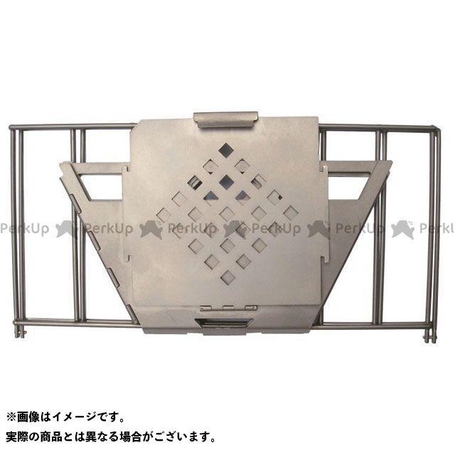 バーゴ VARGO ストーブ・グリル類 チタニウムファイヤー ボックスグリル