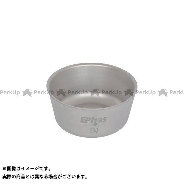 EPI イーピーアイ 野外調理用品 ダブルウォールチタンボウル550