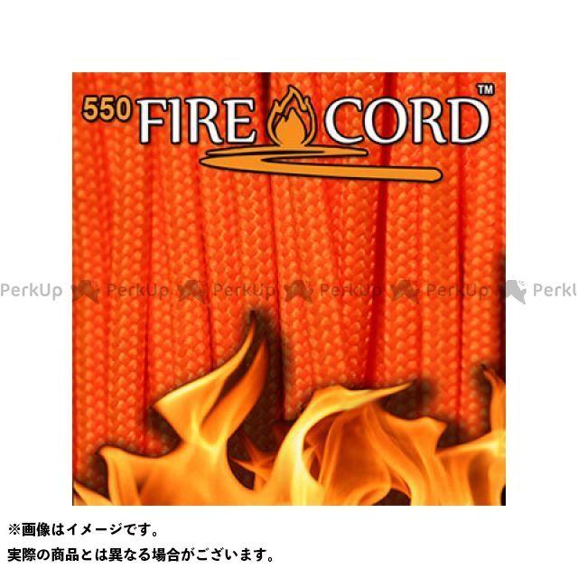 Live Fire Gear ライブファイヤーギア ストーブ・グリル類 550 Fire Cord(セーフティーオレンジ) 100ft