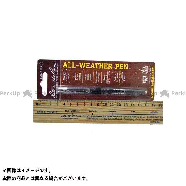 Rite in the Rain ライトインザレイン 野外アイテム プラスチック オールウェザーペン(ALL-Weathear pen)ブラック