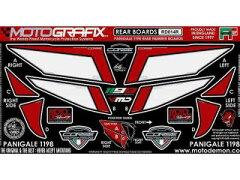 MOTOGRAFIX【1199パニガーレ用】RD014R ボディパッド Rear ドゥカティ