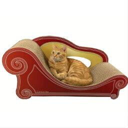猫 専用 爪とぎ ソファー アンティークレッド グラングラン XL
