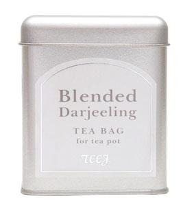 田園調布の紅茶店≪ティージュ≫ブレンドダージリン15個(ティーバッグ・缶入)