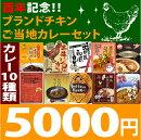 地カレー家特選☆ブランドチキンカレーセット(ご当地カレー)